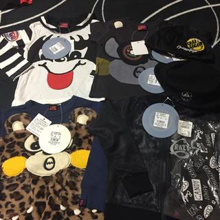 ジャム(JAM)のクレイジーゴーゴー 100〜105サイズ 帽子とネクタイはSサイズ(Tシャツ/カットソー)