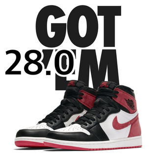 ナイキ(NIKE)のNIKE AIR JORDAN 1 HIGH OG TRACK RED(スニーカー)