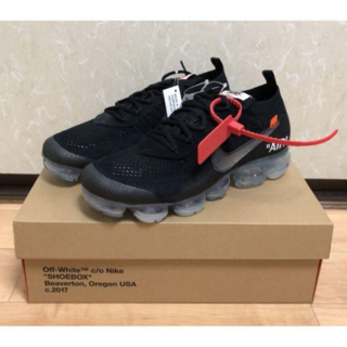 ナイキ(NIKE)のNIKE AIR VAPORMAX THE10 off-white 27.5cm(スニーカー)