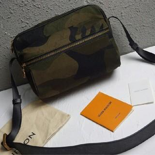 ルイヴィトン(LOUIS VUITTON)の迷彩デニム】最新デザインLVメンズ肩包 (ショルダーバッグ)
