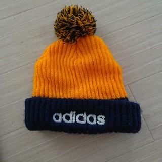 アディダス(adidas)のアディダス キッズニット帽(帽子)