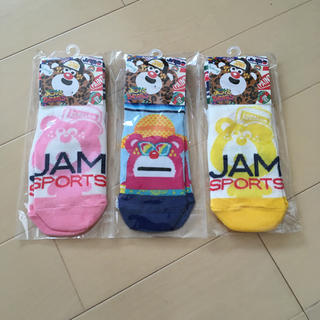 ジャム(JAM)のジャム 靴下 S 3足セット(靴下/タイツ)