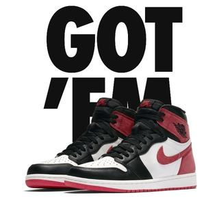 ナイキ(NIKE)の送料込 NIKE AIR JORDAN 1 OG TRACK RED US10(スニーカー)