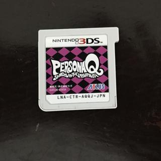 ニンテンドー3DS(ニンテンドー3DS)のペルソナQ ソフトのみ(携帯用ゲームソフト)