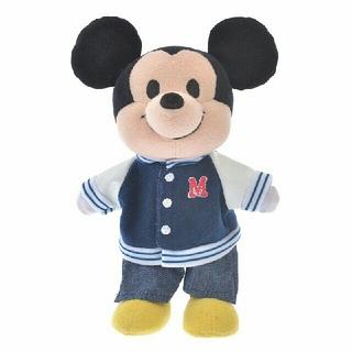 ディズニー(Disney)のぬいもーず専用コスチューム スタジャン&デニムパンツ♪(キャラクターグッズ)