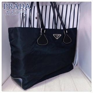 プラダ(PRADA)の【美品】PRADA×プラダ A4収納可能トートバッグ(トートバッグ)