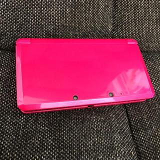 ニンテンドー3DS(ニンテンドー3DS)の任天堂 3DS グロスピンク(携帯用ゲーム本体)