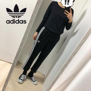 アディダス(adidas)の【adidas】スリーライン クロップド丈パンツ(ワークパンツ/カーゴパンツ)