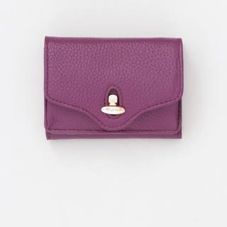 ビューティアンドユースユナイテッドアローズ(BEAUTY&YOUTH UNITED ARROWS)のHASHIBAMI MINI WALLET ミニウォレット 財布 パープル(財布)