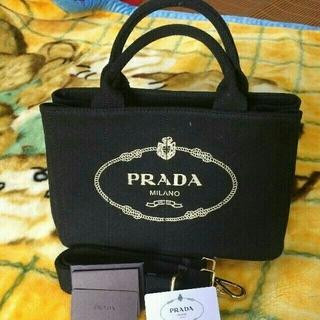 プラダ(PRADA)のPRADA カナパトートバッグ S ブラック (トートバッグ)