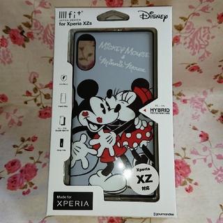 ディズニー(Disney)のスマホケース ディズニーミッキー&ミニー イーフィット Xperia Zx (Androidケース)