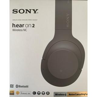 ソニー(SONY)のSONY hear on 2 wireless NC (WH-H900N)(ヘッドフォン/イヤフォン)