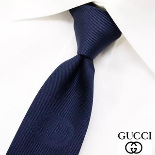 グッチ(Gucci)の専用 GUCCI グッチ 新品本物 ネイビー SILK ネクタイ(ネクタイ)