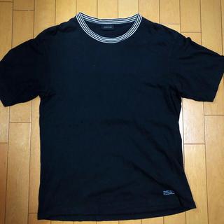 アンダーカバー(UNDERCOVER)のundercover ネックボーダーTシャツ(Tシャツ/カットソー(半袖/袖なし))