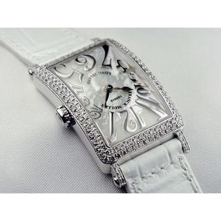 フランクミュラー(FRANCK MULLER)のロングアイランド レディース マザーオブパール ダイヤモンド(腕時計)