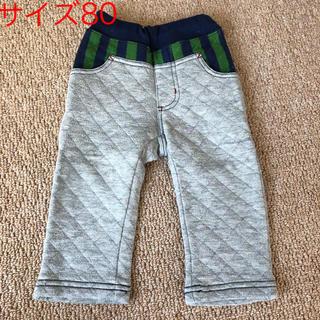 リトルベアークラブ(LITTLE BEAR CLUB)のLITTLE BAER CLUB☆キルティングパンツ サイズ80(パンツ)