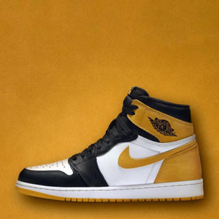 ナイキ(NIKE)のAIR JORDAN 1 Retro High OG YELLOW OCHRE(スニーカー)