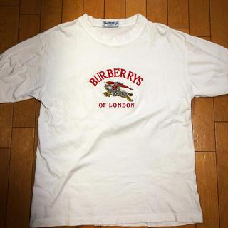 バーバリー(BURBERRY)のBurberry ヴィンテージ Tシャツ(Tシャツ/カットソー(半袖/袖なし))