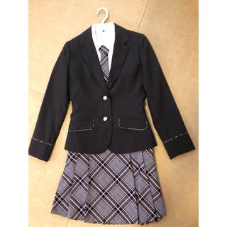シマムラ(しまむら)の卒業式 女子 スーツ 160・4点セット(ドレス/フォーマル)