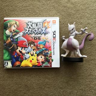 ニンテンドー3DS(ニンテンドー3DS)の大乱闘スマッシュブラザーズ+amiiboミュウツーfor Nintendo3DS(携帯用ゲームソフト)