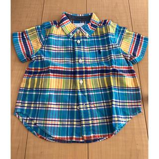 ラルフローレン(Ralph Lauren)のラルフローレン 半袖シャツ 18m(Tシャツ/カットソー)