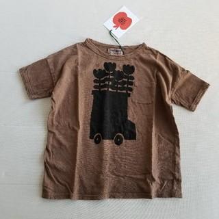 ボボチョース(bobo chose)の4-5Y BOBOCHOSES リネン混 Tシャツ(Tシャツ/カットソー)