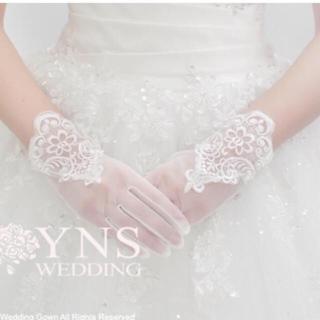 新品未使用 YNS Wedding グローブ(ウェディングドレス)