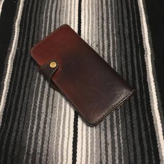栃木レザーフクロアイフォンケース アイフォン6本革(iPhoneケース)