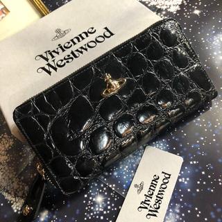 ヴィヴィアンウエストウッド(Vivienne Westwood)の新品 ヴィヴィアン レザー 長財布 BK(財布)
