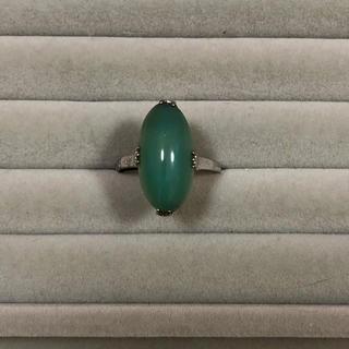 緑石 シルバーリング(リング(指輪))