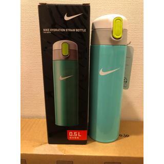 ナイキ(NIKE)の新品未使用 サーモス NIKE ストローマ保冷ボトル ベビー用品 値下げ(マグカップ)