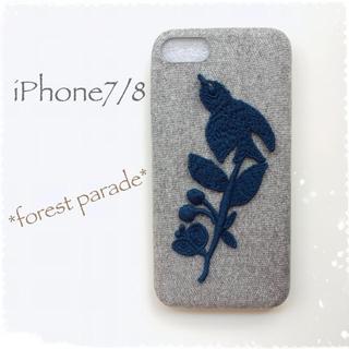 ミナペルホネン(mina perhonen)のforest parade*iPhone7/8*(iPhoneケース)