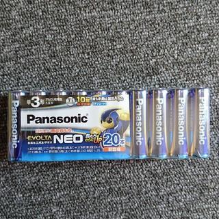 パナソニック(Panasonic)のPanasonic アルカリ乾電池 エボルタ 単3形 20本 (バッテリー/充電器)