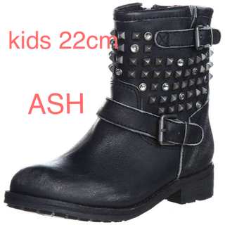 アッシュ(ASH)のアッシュ  ASH ASHキッズ スタッズ エンジニアブーツ(ブーツ)