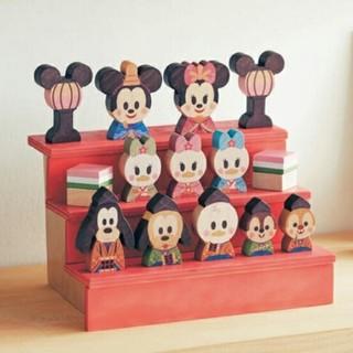 ディズニー(Disney)のましゅまろ様専用☆ディズニー☆KIDEA☆ひなまつり☆積み木☆キディア(積み木/ブロック)