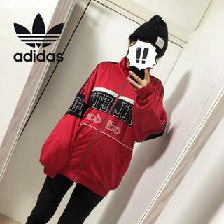アディダス(adidas)の【adidas】90'sヴィンテージ トレフォイル刺繍 トラックジャケット(カットソー(長袖/七分))