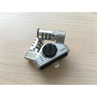 【iPhone用マイク】ZOOM iQ6 スマホをボイスレコーダーにするマイク