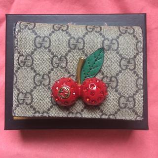 グッチ(Gucci)の グッチチェリー財布(財布)