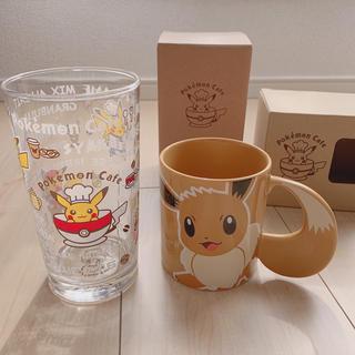 ポケモン - ポケモンカフェ グラス マグカップ