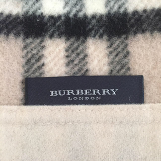 バーバリー(BURBERRY)のバーバリー 毛布(毛布)