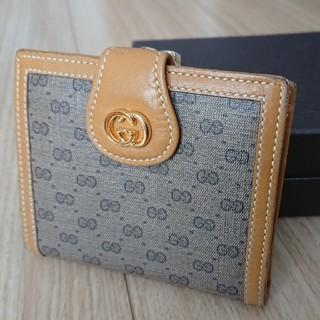 グッチ(Gucci)のOLD GUCCI 二つ折り財布(財布)