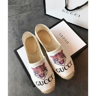 グッチ(Gucci)のGUCCI エスパ 靴(ローファー/革靴)
