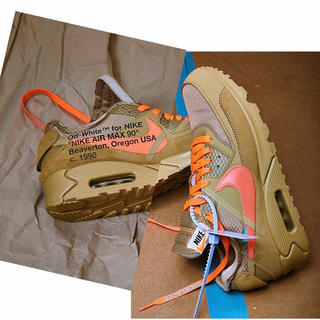 ナイキ(NIKE)のNIKE OFF-WHITE THE TEN AIRMAX90(スニーカー)