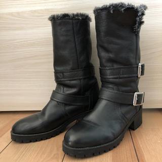 ザラ(ZARA)のブーツ ZARA 黒(ブーツ)