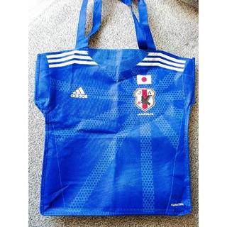 アディダス(adidas)の非売品 厚手不織布バッグ サッカー日本代表ユニ(記念品/関連グッズ)