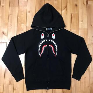 アベイシングエイプ(A BATHING APE)のBAPE シャークパーカー shark hoodie ベイプ ape エイプ(パーカー)