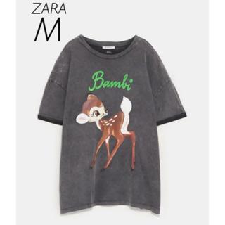 ZARA - 【新品・未使用】ZARA ×Disney バンビ Tシャツ M