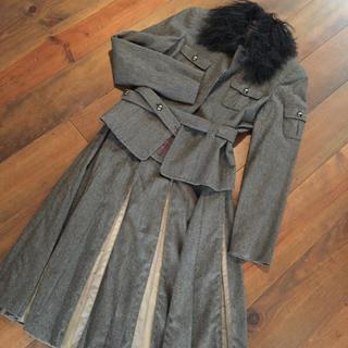 コムサコレクション(COMME ÇA COLLECTION)のスーツ 《KT キヨコタカセ》グレー ジャケット スカート《お値下げ》(スーツ)