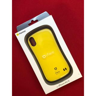 ☆新品 正規品☆iface iPhoneXS/X兼用 イエロー 黄色(iPhoneケース)