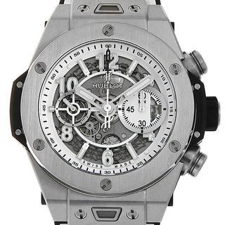 ウブロ(HUBLOT)のビッグバン ウニコ ブラック&ホワイト 日本限定 材質(腕時計(アナログ))